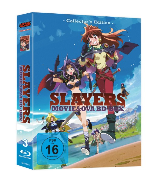 Slayers: Movies & OVAs - Gesamtausgabe (Collector's Edition) [3 Blu-rays]
