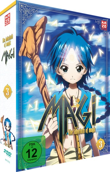 Magi: The Labyrinth of Magic - Volume 03 Box [2 DVDs]
