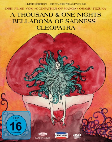 Animerama: A Thousand & One Nights, Cleopatra, Belladonna of Sadness (Deluxe Edition) [3 DVDs]