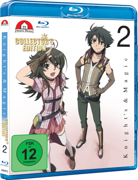 Knight's & Magic - Volume 02 (Limited Collector's Edition) [Blu-ray]