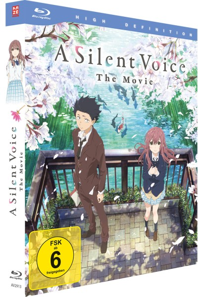A Silent Voice (Deluxe Edition) [Blu-ray]