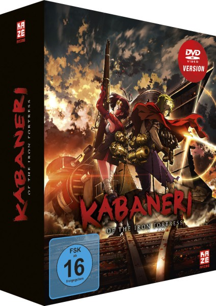 Kabaneri of the Iron Fortress - Volume 03 (Limited Edition & Sammelschuber) [DVD]