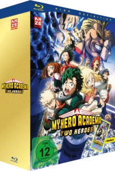 My Hero Academia - The Movie: Two Heroes (mit Handtuch) [Blu-ray]