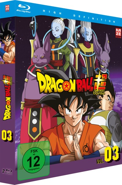 Dragonball Super - Volume 03 Box [2 Blu-rays]