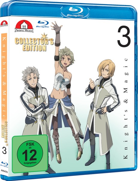 Knight's & Magic - Volume 03 (Limited Collector's Edition) [Blu-ray]