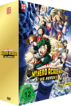 My Hero Academia - The Movie: Two Heroes (mit Handtuch) [DVD]