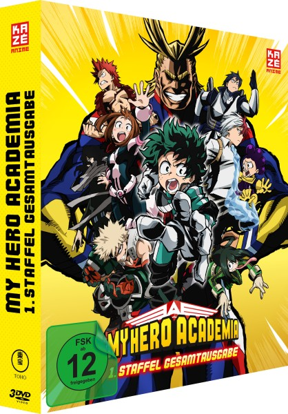 My Hero Academia - 1. Staffel Gesamtausgabe (Deluxe Edition) [3 DVDs]