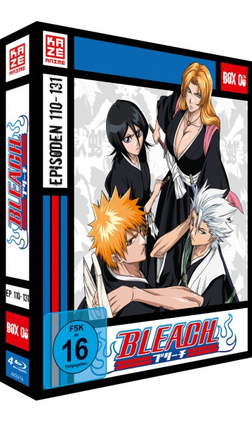 Bleach: Die TV-Serie - Volume 06 Box [4 Blu-rays]