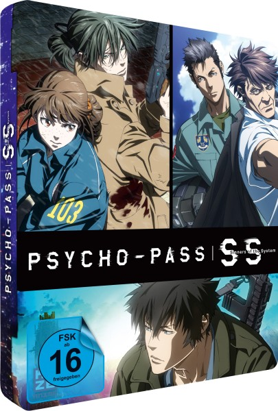 Psycho-Pass: Sinners of the System - 3 Movies (Limited Edition) [DVD]