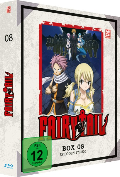 Fairy Tail - Volume 08 Box (7. Staffel) [3 Blu-rays]