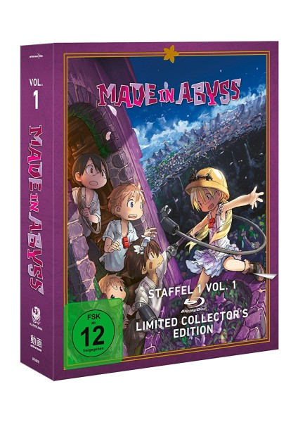 Made in Abyss: Staffel 01 - Volume 01 (Limited Collector's Edition) [Blu-ray]