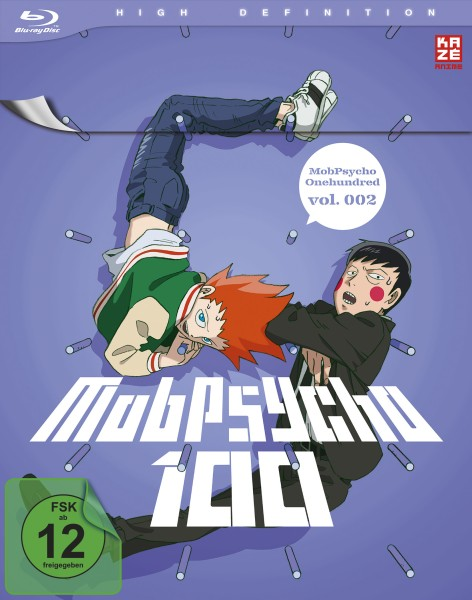 Mob Psycho 100 - Volume 02 [Blu-ray]