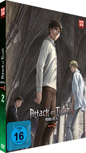 Attack on Titan: 2. Staffel - Volume 02 [DVD]