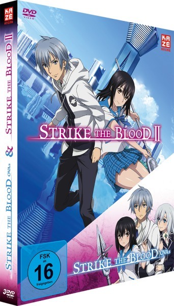 Strike the Blood Second / Strike the Blood OVAs Box [3 DVDs]