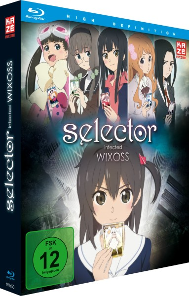 Selector Infected Wixoss (1. Staffel) - Gesamtausgabe Box [2 Blu-rays]