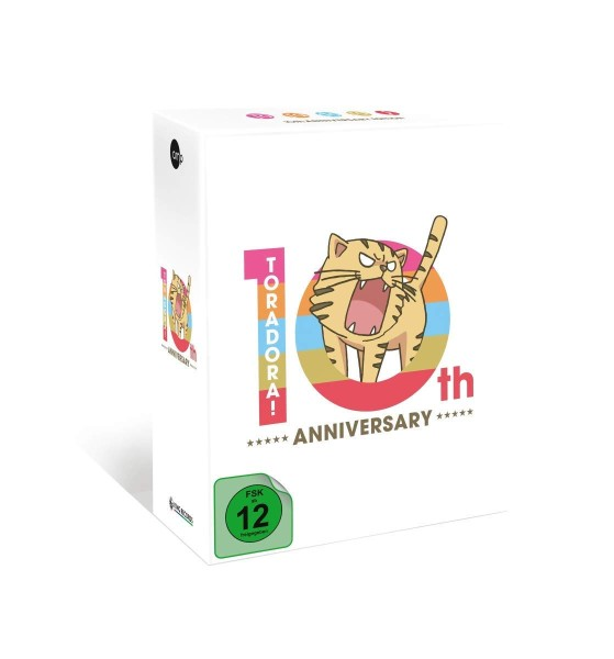 Toradora! 10th Anniversary Edition Box (Limited Edition) [5 Blu-rays]