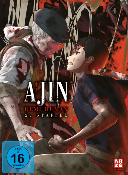 Ajin: Demi-Human - Volume 04 (Staffel 2) [DVD]
