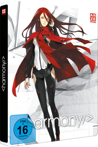 Project Itoh: Harmony - 02 (Collector's Edition Steelbook) [Blu-ray/DVD]