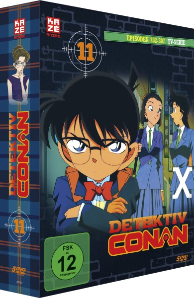 Detektiv Conan: Die TV-Serie - Volume 11 Box (Staffel 4) [5 DVDs]