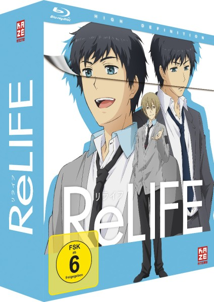 ReLIFE - Volume 01 & Sammelschuber (Limited Edition) [Blu-ray]