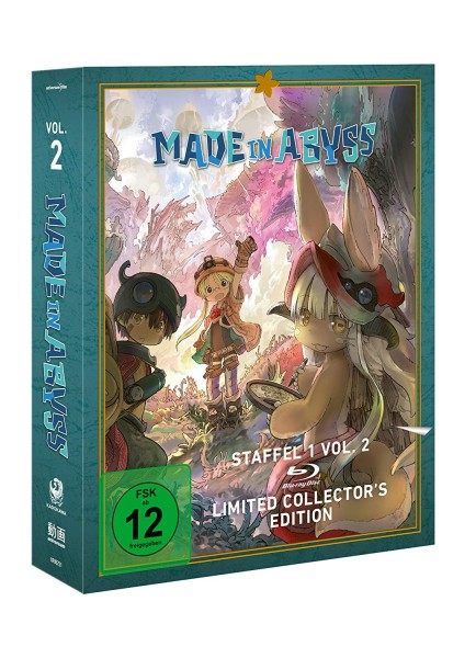 Made in Abyss: Staffel 01 - Volume 02 (Limited Collector's Edition) [Blu-ray]