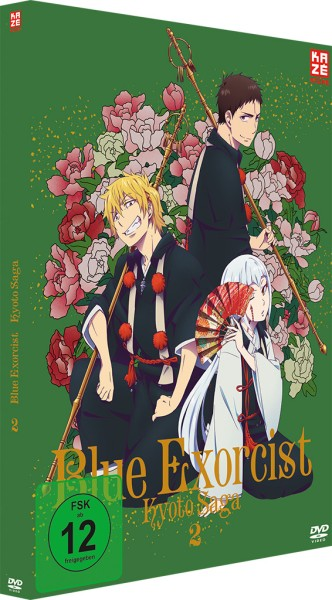 Blue Exorcist: Kyoto Saga / 2. Staffel - Volume 02 [DVD]