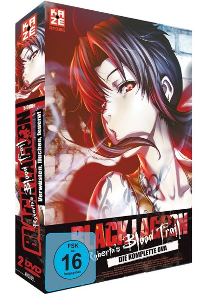 Black Lagoon - Robertas Blood Trail Box [2 DVDs]