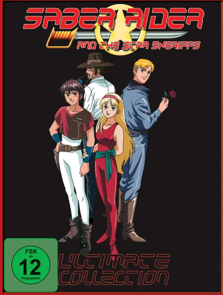 Saber Rider - The Ultimate Collection Box [10 DVDs]