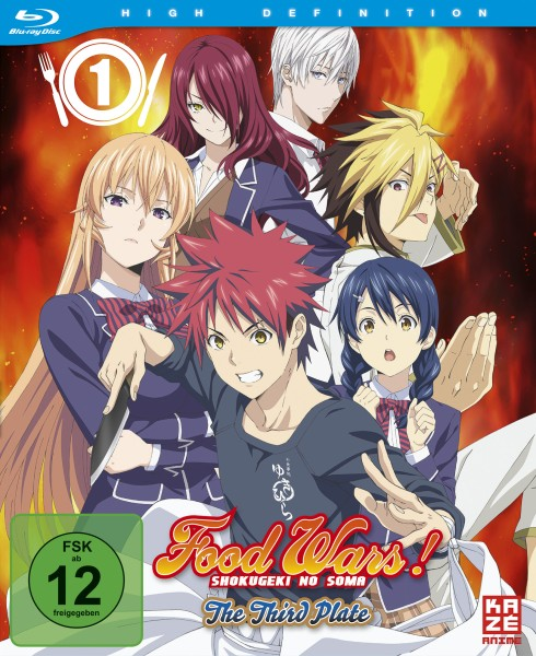 Food Wars! The Third Plate (3. Staffel) - Volume 01 [Blu-ray]