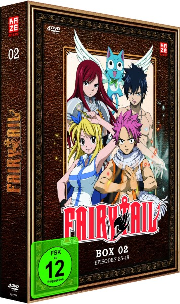 Fairy Tail - Volume 02 Box [4 DVDs]