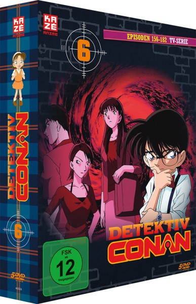Detektiv Conan: Die TV-Serie - Volume 06 Box (Staffel 2) [5 DVDs]