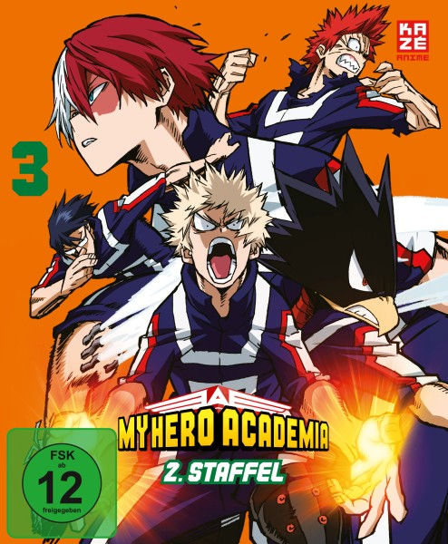 My Hero Academia: 2. Staffel - Volume 03 [Blu-ray]