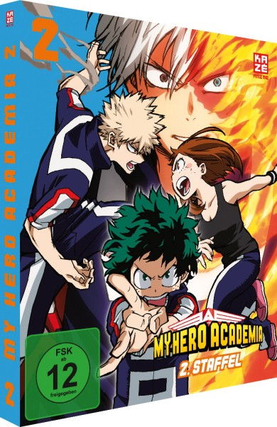 My Hero Academia: 2. Staffel - Volume 02 [DVD]