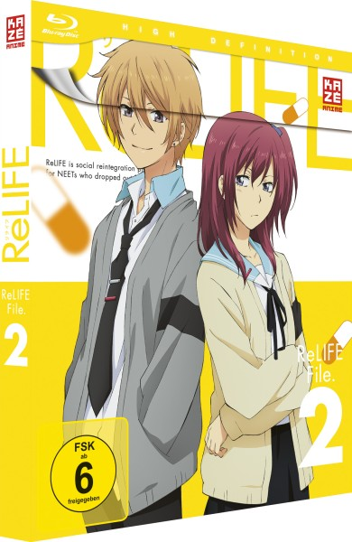 ReLIFE - Volume 02 [Blu-ray]