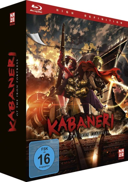 Kabaneri of the Iron Fortress - Volume 03 (Limited Edition & Sammelschuber) [Blu-ray]