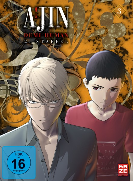 Ajin: Demi-Human - Volume 03 (Staffel 2) [DVD]