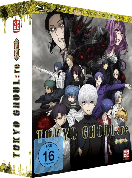 Tokyo Ghoul:re - Volume 05 (Limited Edition & Sammelbox) [Blu-ray]