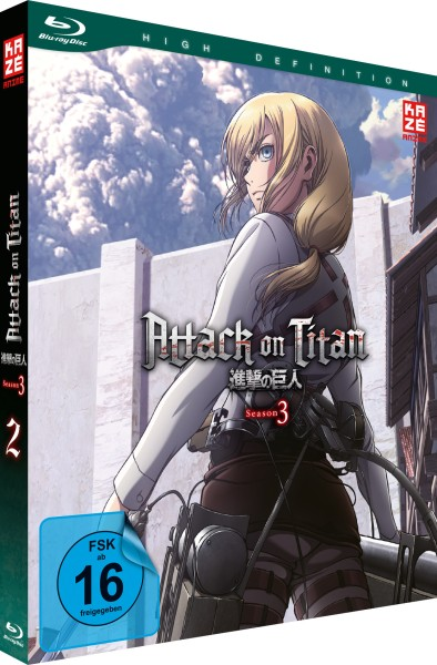 Attack on Titan: 3. Staffel - Volume 02 [Blu-ray]
