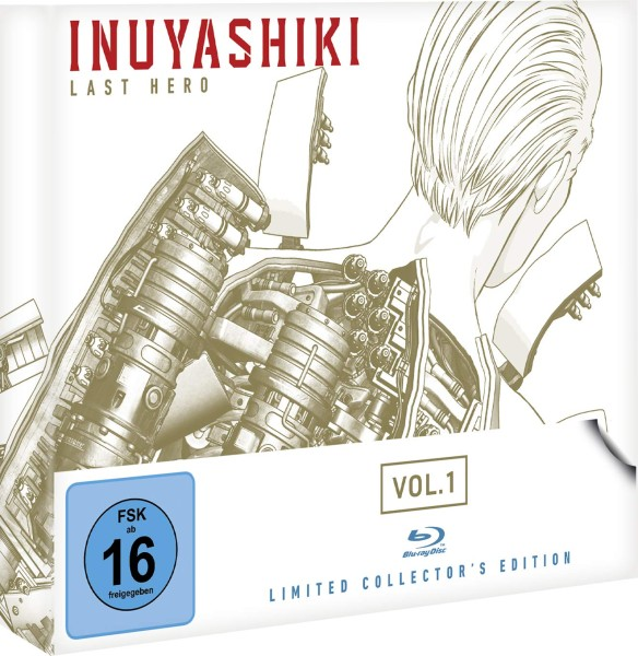 Inuyashiki Last Hero - Volume 01 (Limited Collector's Edition) [Blu-ray]