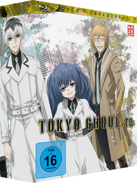 Tokyo Ghoul:re (3. Staffel) - Volume 01 & Sammelschuber (Limited Edition) [Blu-ray]