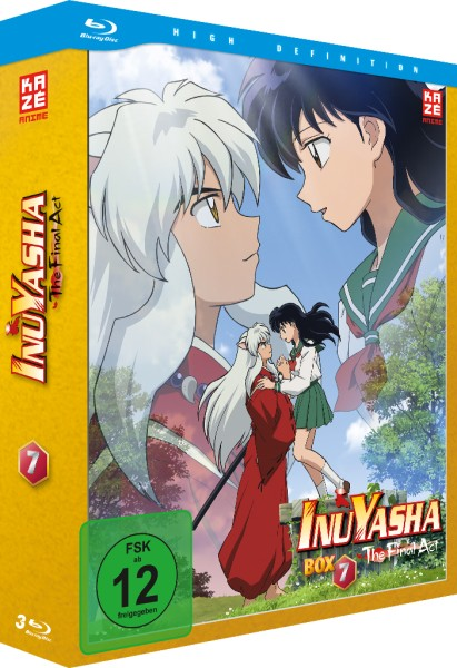 InuYasha: Die TV-Serie - Volume 07 Box (Final Act) [3 Blu-rays]