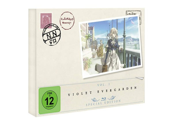 Violet Evergarden - Volume 01 (Limited Special Edition) [Blu-ray]