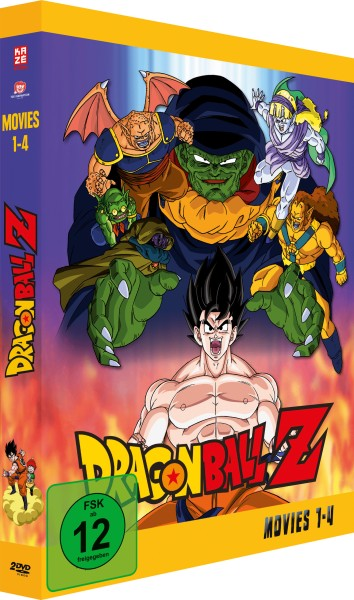 Dragonball Z - Movies Box Volume 01 [2 DVDs]