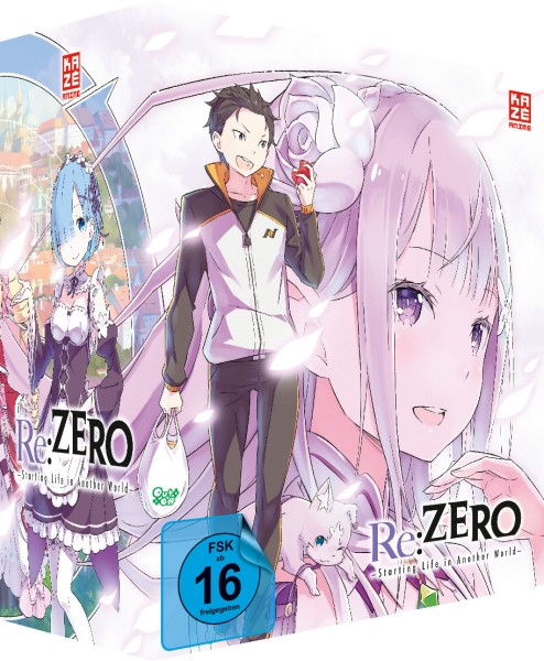 Re:ZERO -Starting Life in Another World- - Volume 01 (Limited Edition & Schuber) [DVD]