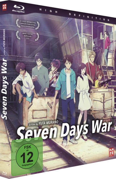 Seven Days War (Limited Deluxe Edition) [Blu-ray]