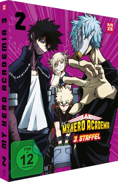 My Hero Academia: 3. Staffel - Volume 02 [DVD]