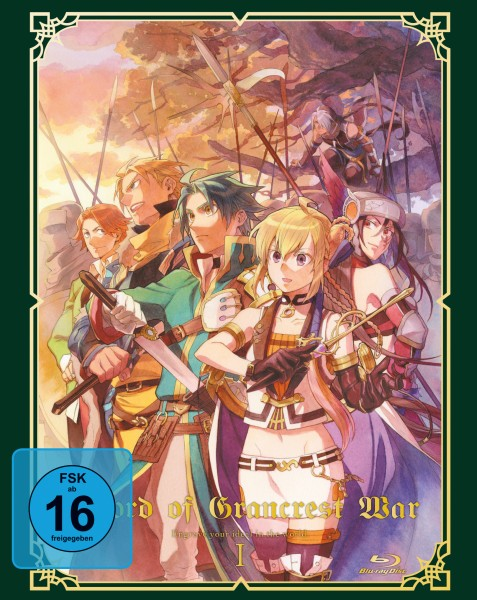Record of Grancrest War - Volume 01 [Blu-ray]