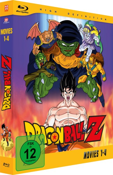 Dragonball Z - Movies Box Volume 01 [2 Blu-rays]