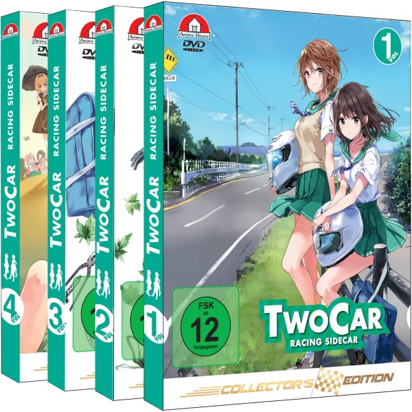 Two Car: Racing Sidecar - Gesamtausgabe (Collector's Edition) [4 DVDs]