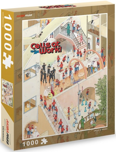 Cells at Work - Puzzle (1000 Teile)